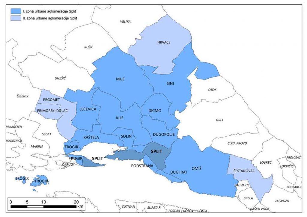 Urbana aglomeracija split